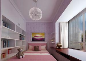 都市轻松自然风格卧室飘窗装修效果图