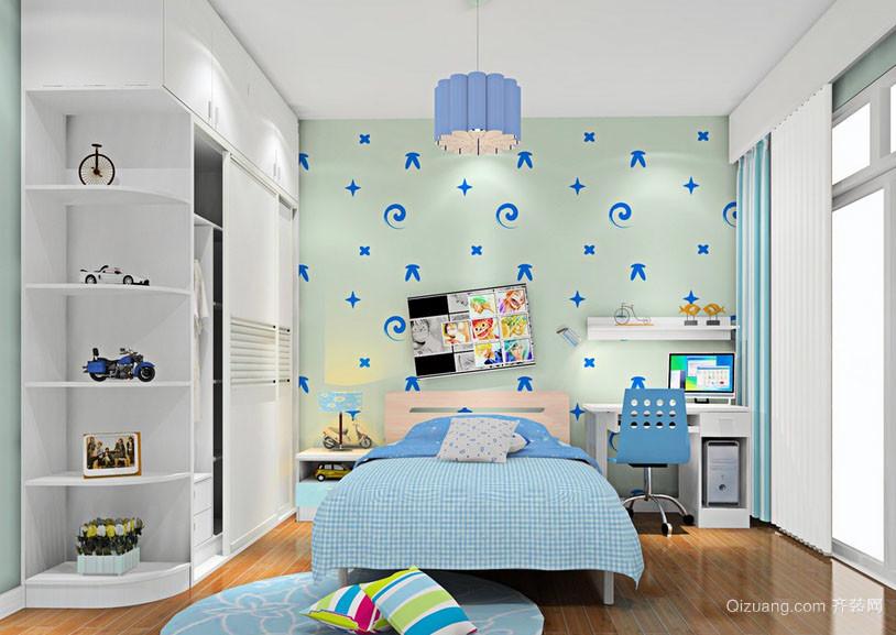 简约时尚自然轻快卧室装修效果图