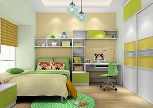创意简约时尚卧室装修效果图
