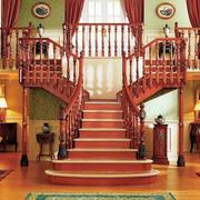 双向楼梯装修效果图