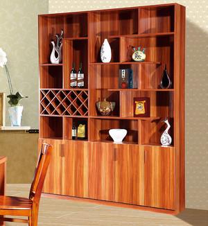现代中式风格家庭酒柜装修效果图