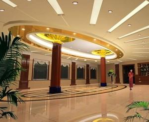 156平米都市精致的酒店大厅室内装修效果图