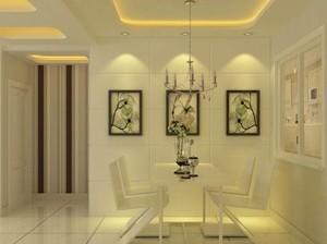 135平米都市完美餐厅室内设计装修效果图