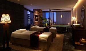 38平米都市经典的宾馆卧室装修效果图