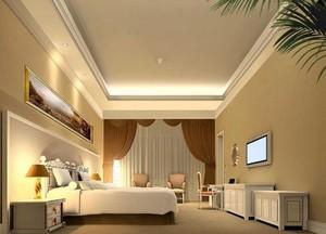 134平米都市完美的宾馆吊顶设计装修