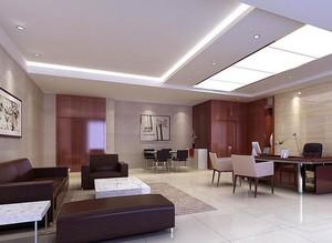200平米都市办公室装修设计效果图欣赏
