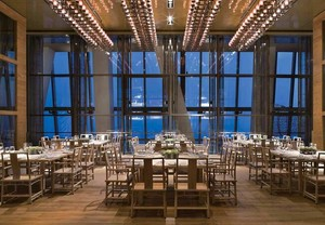 55平米清新的酒店室内装修设计效果图实例