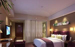 100平米清新酒店卧室设计装修效果图鉴赏
