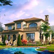 精致别墅设计效果图