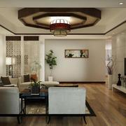 美式客厅整体设计图