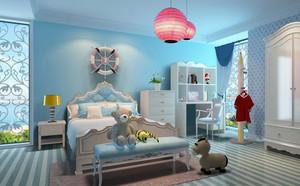 现代简约轻快儿童房装修效果图大全