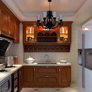 欧式厨房整体装修效果图