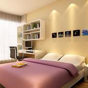 简约时尚清新卧室装修效果图