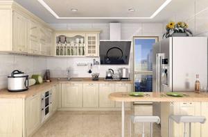 欧式风格10平米厨房装修效果图大全