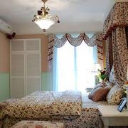 欧式田园风格卧室效果图