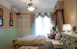 欧式田园风格卧室装修效果图赏析