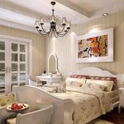 欧式田园风格卧室装修