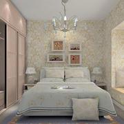 小清新风格卧室装修效果图