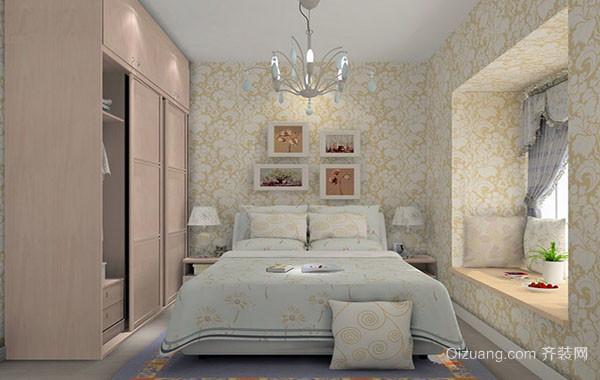 都市小清新风格小户型卧室装修效果图