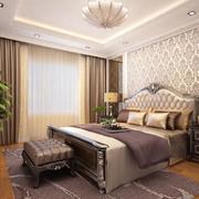 90平米精致的现代卧室设计装修效果图