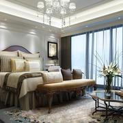 精致美式卧室效果图