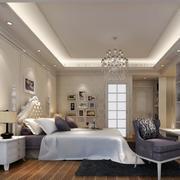 经典的现代欧式卧室室内设计装修效果图