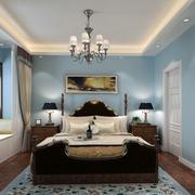 轻快温馨卧室装修效果图