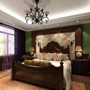 现代美式风格卧室设计