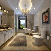 美式卫生间整体设计