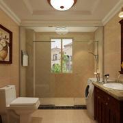 卫生间浴室隔断装修效果图