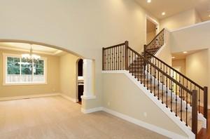 100平米欧式风格楼梯室内设计装修效果图