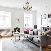 北欧风格简约舒适客厅装修