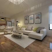 北欧极简主义风格客厅设计