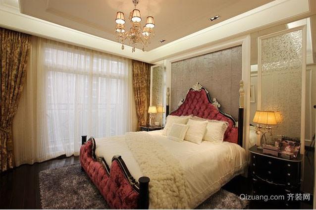2016年经典法式风格卧室装修效果图
