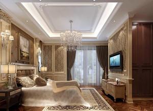 欧式风格精致典雅卧室装修效果图