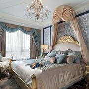 法式精致奢华卧室背景墙