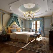 典雅精致卧室效果图