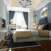 地中海风格精致简约卧室装修效果图