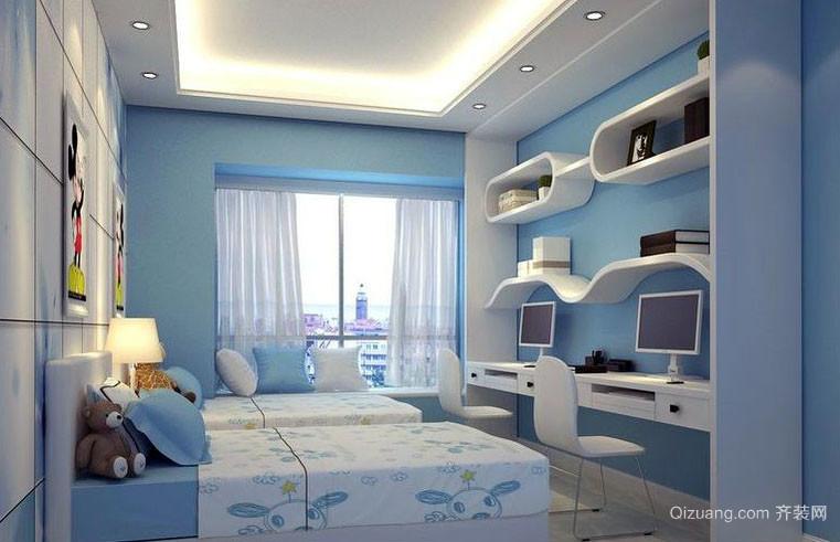 都市小清新自然轻快卧室装修效果图