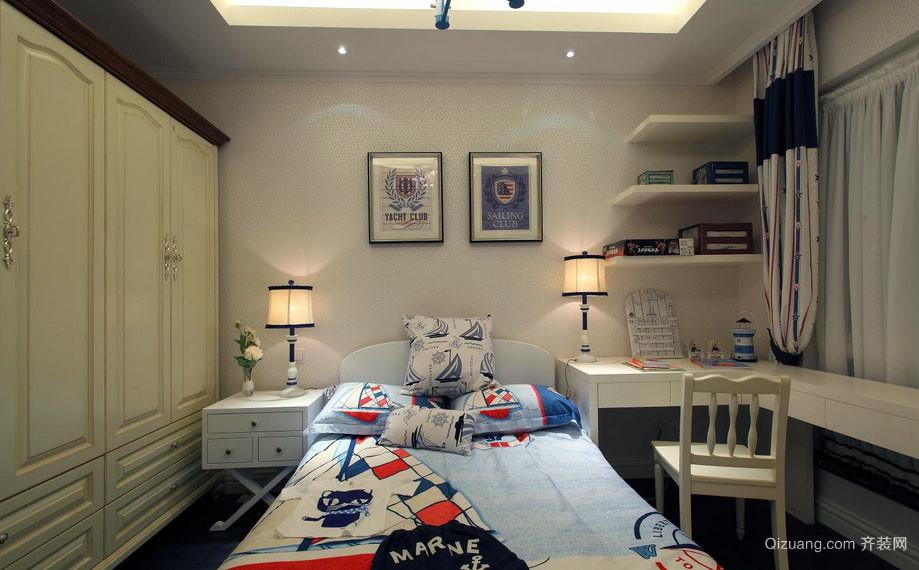 可爱舒适宜家儿童房装修效果图