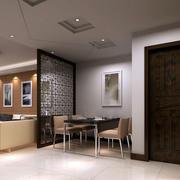 现代小餐厅装修
