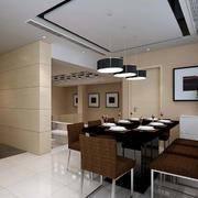 大户型餐厅整体设计