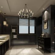 100平米欧式卫生间室内设计装修效果图