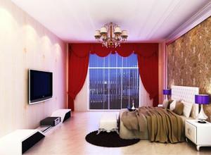 小户型欧式风格卧室室内背景墙装修效果图