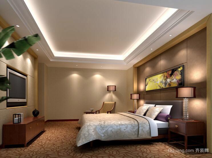 110平米唯美的欧式卧室室内设计装修效果图