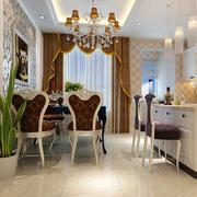 2016小户型欧式餐厅室内设计装修效果图