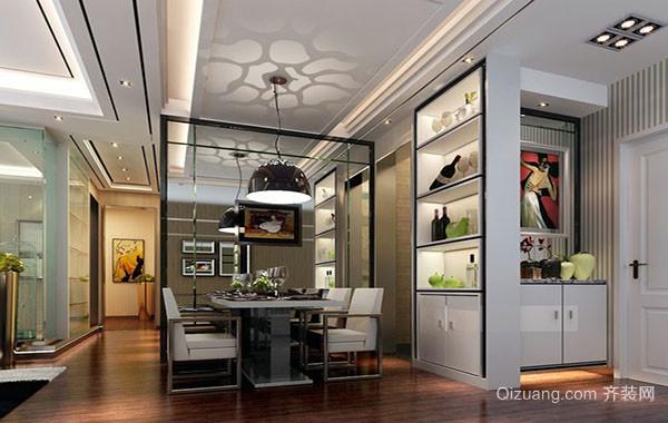 10平米创意时尚餐厅吊顶装修效果图