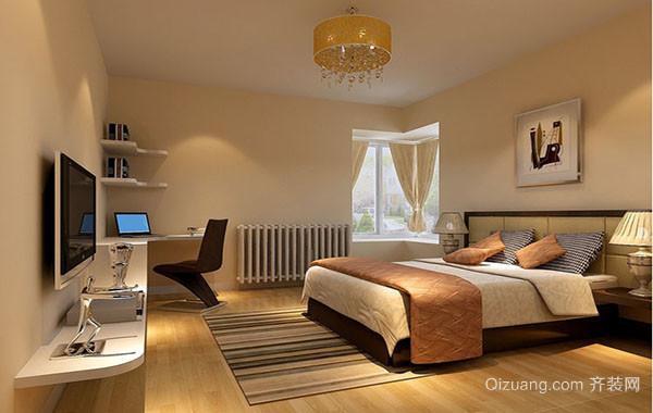 2106年现代简约风格小卧室装修效果图大全