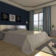 简约精致小卧室效果图
