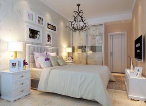 都市简约时尚卧室装修效果图